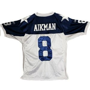 Reebok Troy Aikman Throwback Jersey 48